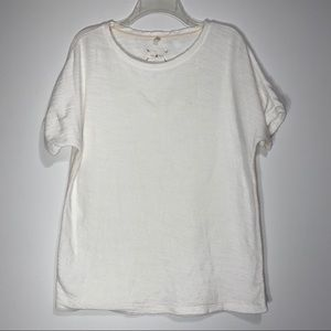Lou & Grey White Top-M/L